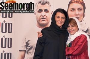 چهره خندان لیلا حاتمی و مادرش در اکران فیلم جدید لیلا! عکس