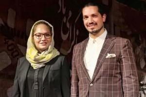 یاسین رامین همسر مهناز افشار با لباس زندان و عصا به دادسرا رفت! عکس