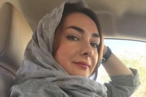 عکس هانیه توسلی در لباس غواصی