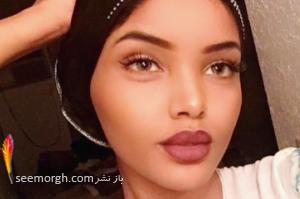 رقابت دختری با حجاب کامل اسلامی در مراسم انتخاب دختر شایسته آمریکا! عکس
