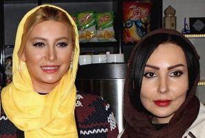 پرستو صالحی و فریبا نادری در افتتاحیه رستوران علیرضا منصوریا