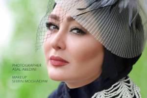 عکس هایی از چهره الهام حميدی بعنوان مدل آرایشی