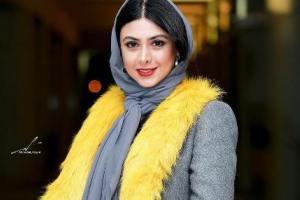 عکس های جدید آزاده صمدی در جشنواره فیلم فجر