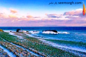 زیباترین ساحل جهان که باور نمی کنید چگونه زیبا شده است!! عکس