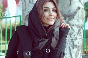 عکس هایی از مراحل آرایش مانکن معروف الهام عرب