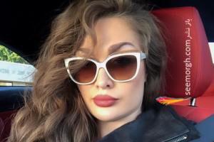 عکس طلا گلزار و مادرش مدل ایرانی شاغل در آمریکا