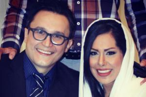 عکس های جدید کیوان محمودنژاد و همسرش آیلین