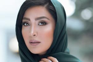 همکاری مریم معصومی با یک سالن زیبایی بعنوان مدل آرایشی! عکس