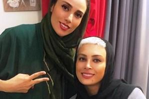 عکس جدید حدیثه تهرانی در کنار همسرش