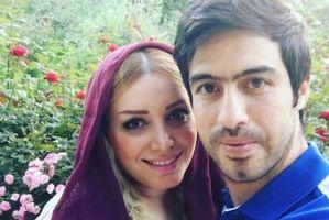ویدیو بامزه ای که لاله شفیع زاده همسر خسرو حیدری از دخترشان منتشر کرد