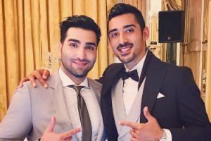عکسی که به تازگی از عروسی رضا قوچان نژاد و همسرش منتشر شد