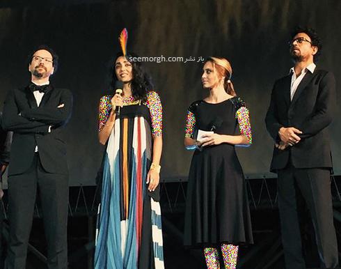 گلشیفته فراهانی در هفتادمین جشنواره فیلم لوکارنو