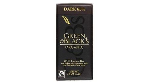 کاکائو بارهای 85% ارگانیک سبز و سیاه