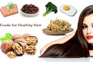 خوارکی هایی که از ریزش موهای شما جلوگیری می کنند