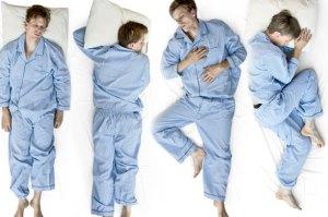 بهترین حالت خوابیدن کدام است
