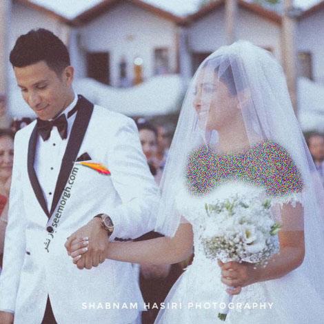 عکس عروسی کامیار