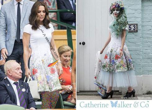 مدل لباس کیت میدلتون از برند کاترین واکر - عکس شماره 6