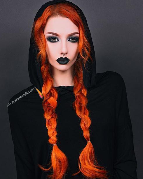 از بین بردن تن نارنجی و زردی مو بعد از دکوپاژ