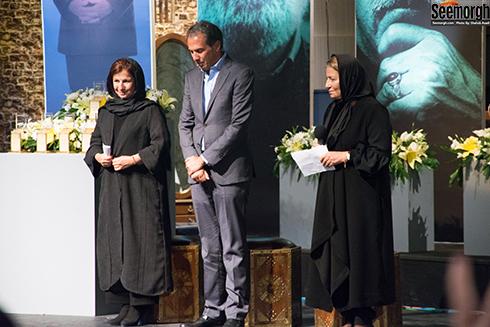 لیلی رشیدی در مراسم اهدای نشان داوود رشیدی