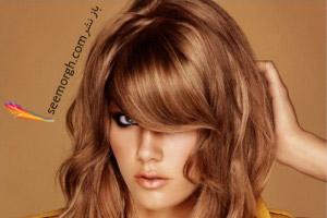 رنگ موی قهوه ای طلایی را بدون دکلره درست کنید