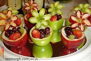 شب چله امسال با کاسه های سیبی از میهمانان تان پذیرایی کنید