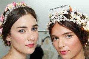 مدل مو عروس برای بهار 2016 به پیشنهاد مارتا استوارت