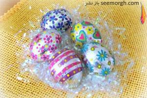 تزیین تخم مرغ سفره هفت سین با فویل های آلومینیومی!!