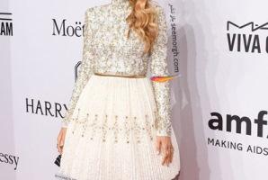 مدل لباس ستارگان هالیوودی در جشن بنیاد تحقیقات ایدز