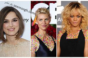مدل مو برای صورت های مربعی به پیشنهاد ستارگان هالیوودی