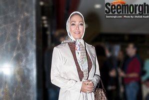 مدل مانتو الهام حمیدی، گلاره عباسی و مینا وحید در اکران فیلم نفس