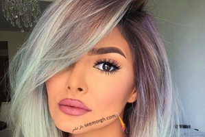 رنگ مو خاکستری، جدیدترین رنگ مو مد شده برای زمستان 2017