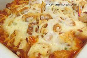 خوراک مرغ و پنیر پارمزان، یک خوراک جدید و خوشمزه