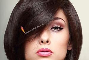 مدل مو زنانه مخصوص صورت های گرد