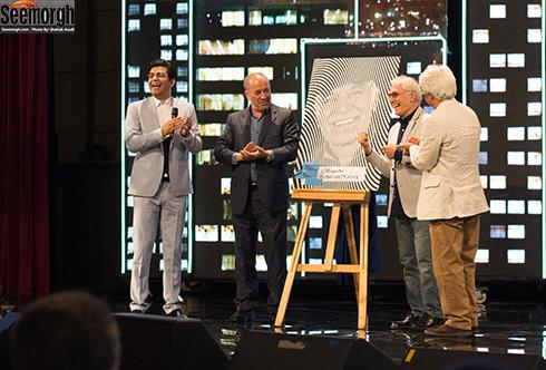 تقدیر از محمود کلاری در اختتامیه ششمین جشنواره فیلم شهر
