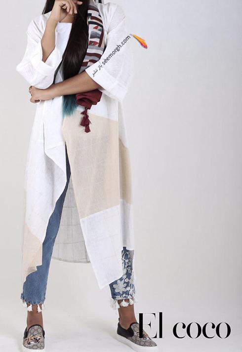 مدل مانتو برند ال کوکو برای تابستان 1396 - مدل شماره 4