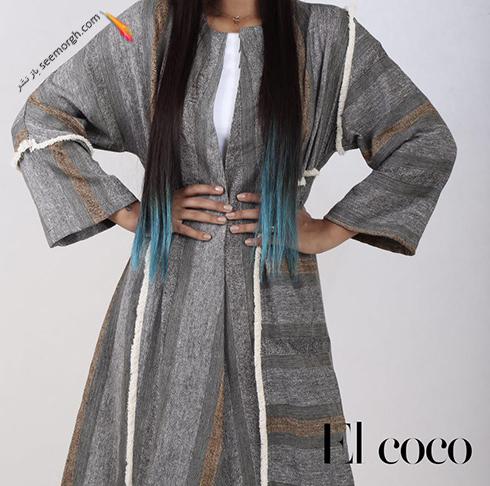 مدل مانتو برند ال کوکو برای تابستان 1396 - مدل شماره 14