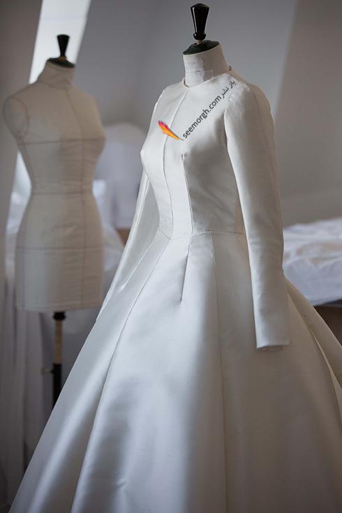 مراحل طراحی لباس عروس میراندا کر Miranda Kerr توسط برند دیور Dior - عکس شماره 3