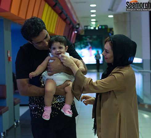 منوچهر هادی یکتا ناصر و دخترشان