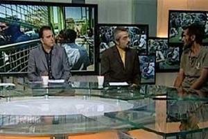 اقدام غیراخلاقی و زننده شبکه خبر در پذیرایی از مهمان برنامه +عکس