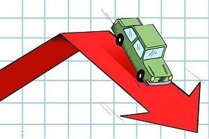 فروش ایران خودرو، سایپا و زامیاد سقوط کرد