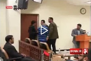 غش کردن شریک جرم بابک زنجانی در دادگاه+ فیلم