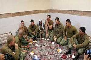 دو سیم کارت از تفنگداران آمریکایی در ایران مانده است!