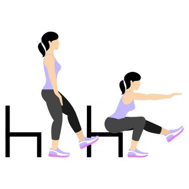 حرکت Single-Leg Pistol Squat (Right Leg) برای بزرگ کردن باسن