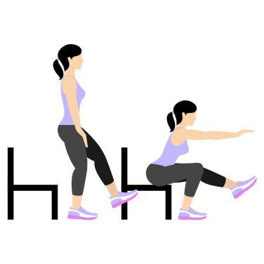 حرکت Single-Leg Pistol Squat (Left Leg) برای بزرگ کردن باسن