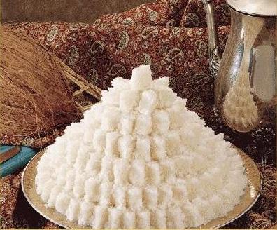شیرینی,شیرینی نوروزی,شیرینی برای نوروز,شیرینی برای عید,شیرینی خانگی,لوز نارگیل خانگی شیرینی مخصوص عید