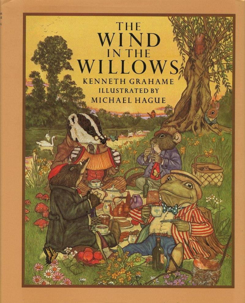 باد در میان شاخه های بید – سال 1908