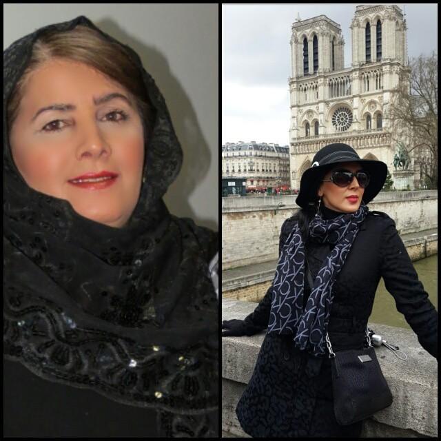 تفاوت چهره لیلا بلوکات و مادرش و شباهت زیاد به خواهرش!