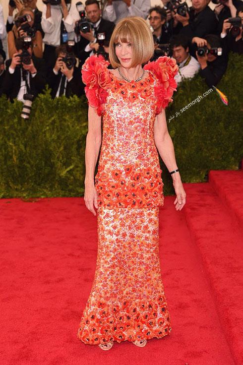 مدل لباس ستارگان هالیوودی در مراسم مت گالا Met Gala 2015