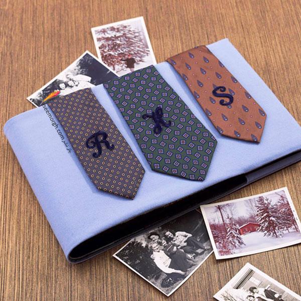 ایده ای زیبا برای تزیین آلبوم های خانوادگی برای هدیه روز پدر