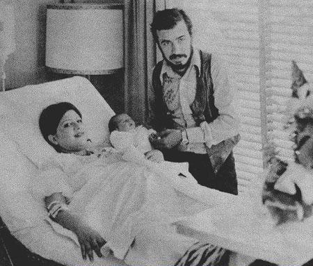 لحظه به دنیا آمدن لیلا حاتمی